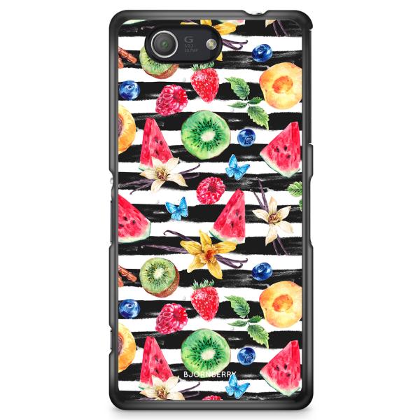Bjornberry Skal Sony Xperia Z3 Compact - Tropiska Frukter