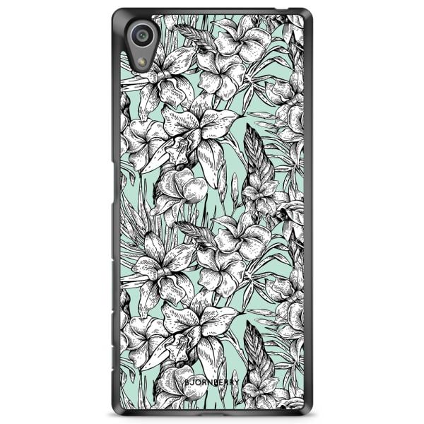 Bjornberry Skal Sony Xperia Z5 - Exotiska Blommor