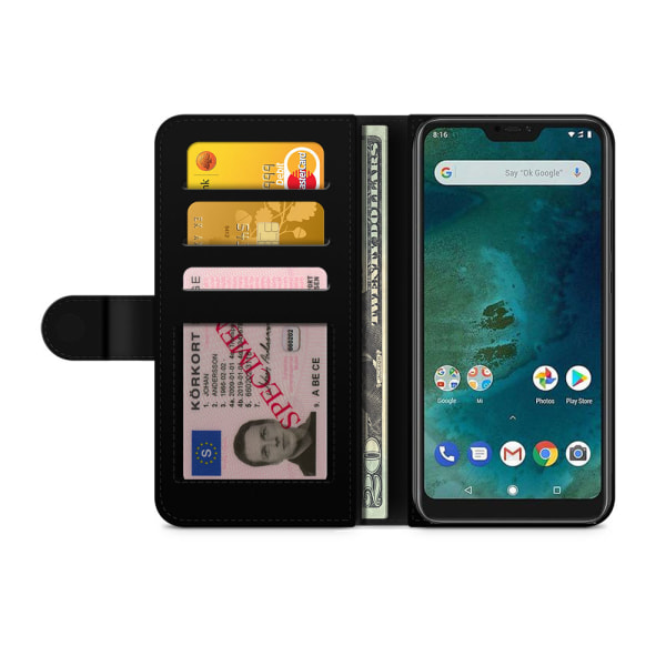 Bjornberry Xiaomi Mi A2 Lite Fodral - Mandala Panter
