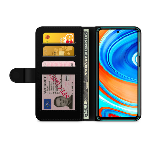 Bjornberry Xiaomi Redmi Note 9 Fodral - Chloe