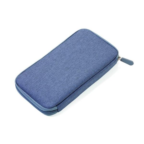 Resefodral med RFID grå