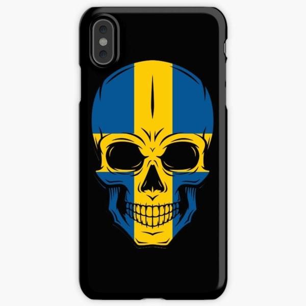 Skal till iPhone Xs Max - Svensk dödskalle