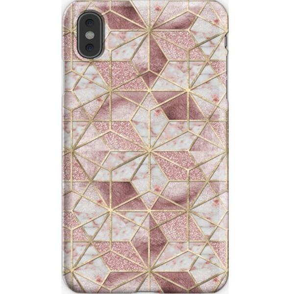 Skal till iPhone X/Xs - Modern rose gold