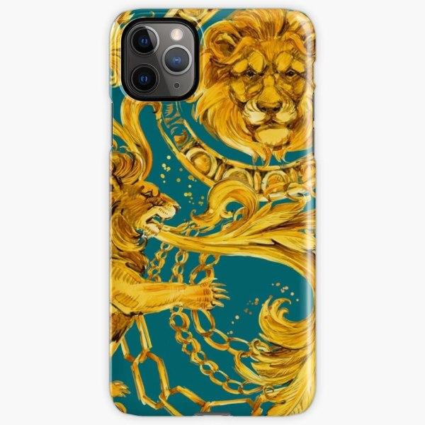 Skal till iPhone 11 Pro Max - Lejon Gold
