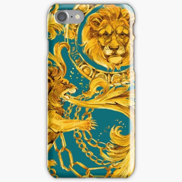Skal till iPhone 8 Plus - Lejon Gold