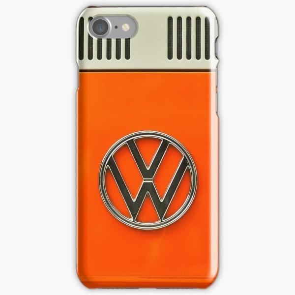 Skal till iPhone 8 Plus - Retro Orange Volkswagen Van