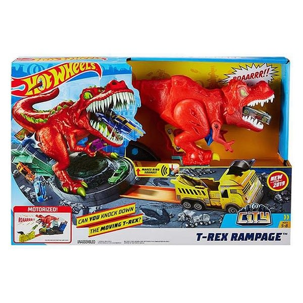 Track Set T-REX Rampage Hot Wheels – Bil och Racing