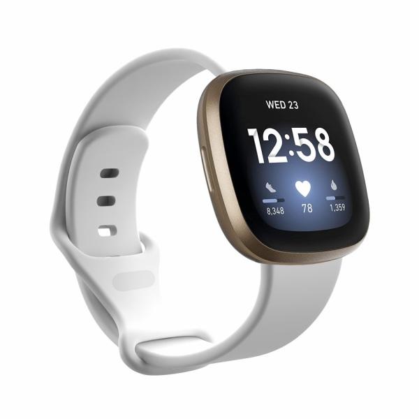Silikonarmband Fitbit Versa 3/Sense Vit