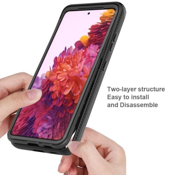 Allround Cover Skal Samsung Galaxy S21 Ultra Svart