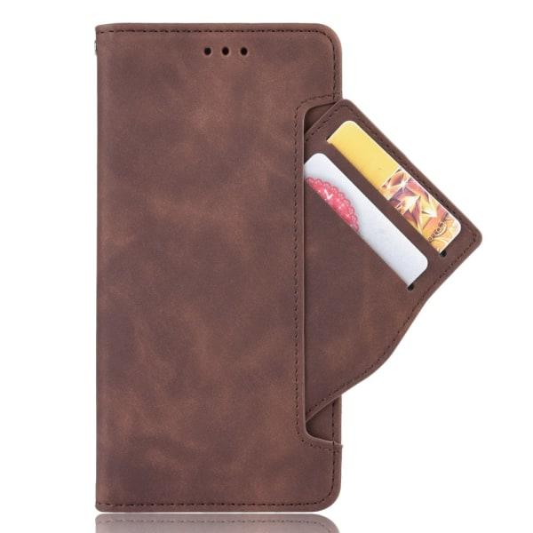 Multi Slot Plånboksfodral Samsung Galaxy S20 Brun
