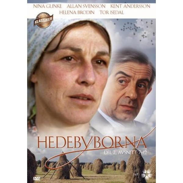 Hedebyborna, osa 2, jakso 7-12 - DVD