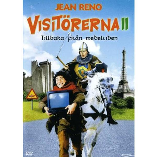 De besøgende II - tilbage fra middelalderen - DVD