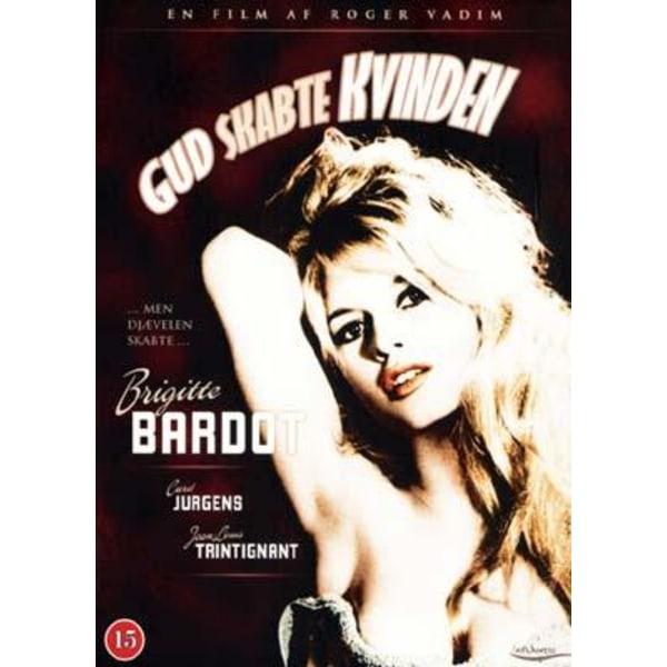 Och gud skapade kvinnan - DVD - Danskt Fodral