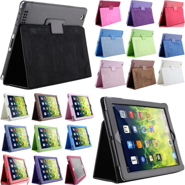 iPad mini 1/2/3 fodral/skal/skydd enkelt - Svart Ipad Mini 1/2/3