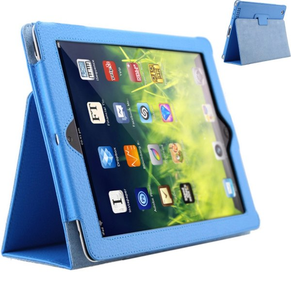 iPad 2/Ipad 3/Ipad 4 fodral - Ljusblå hel Ipad 2/3/4 från år 2011/2012 Ej Air