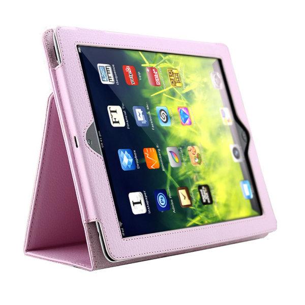 Välj modell skal fodral iPad Air/Pro/Mini 1/2/3/4/5/6/7/8/11 - Rosa Ipad 2/3/4 från år 2011/2012 Ej Air