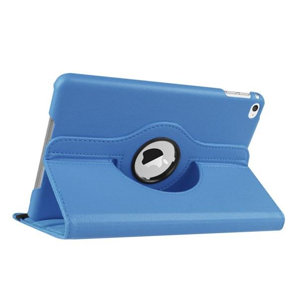 Skydd 360° rotation iPad mini 4/5 fodral ställ skärmskydd skal - Ljusblå Ipad Mini 4/5