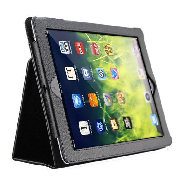 För alla modeller iPad fodral/skal/air/pro/mini urtag hörlurar - Svart Ipad 2/3/4 från år 2011/2012 Ej Air