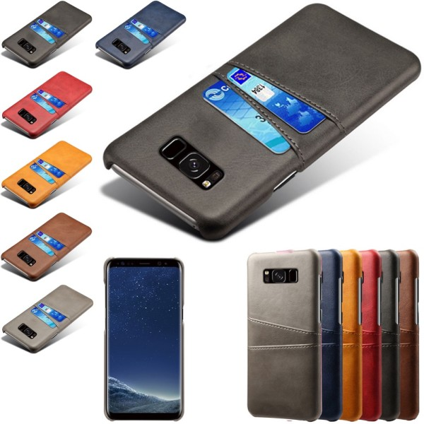 Samsung galaxy S8 skal kort - Svart Samsung Galaxy S8