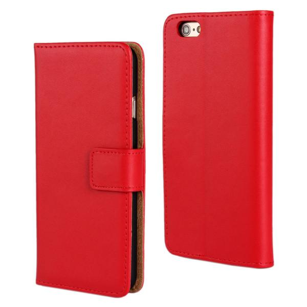 Mobil skal, plånboksmodell 6 6s Röd