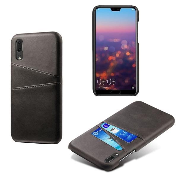 Huawei P20 skal kort - Svart Huawei P20