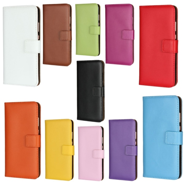 Huawei P40/P40Pro/P40lite4G/P40liteE plånbok skal fodral kort - Orange P40 lite 4G
