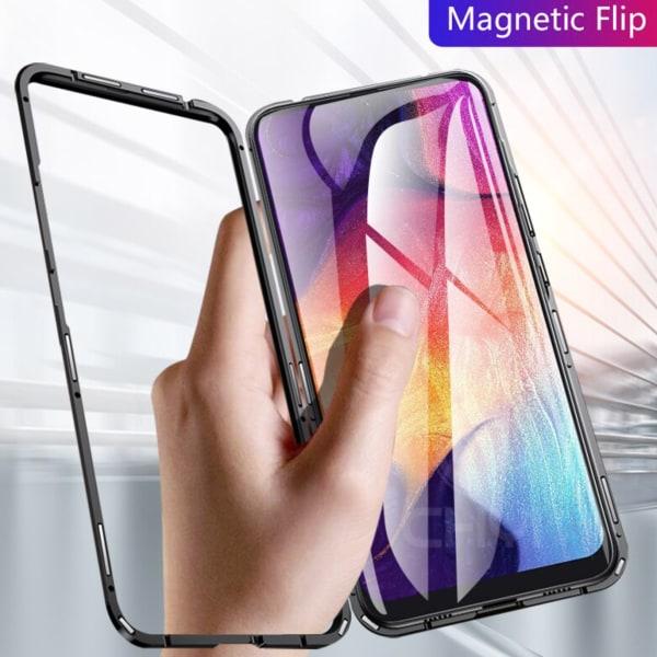 Magnet skal Samsung Galaxy A10/A40/A50/A70/M10 skydd fodral - Röd A40