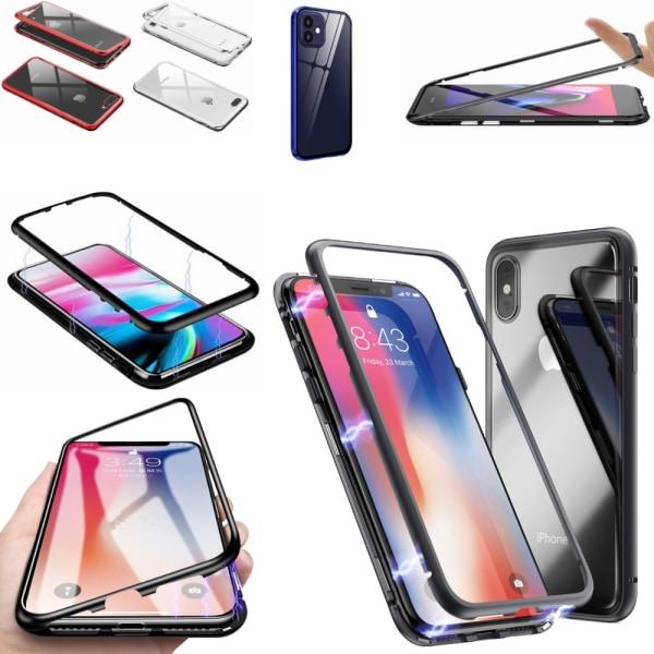 Magnet skal skydd fodral iPhone 6/6s/6+/6s+ - Silver 6+/6s+