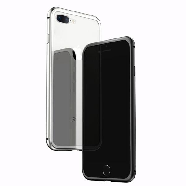 Qi ladda magnet skal fodral iphone 7/7+/8/8+/X/XS/XSMax/XR - Röd Iphone X/XS