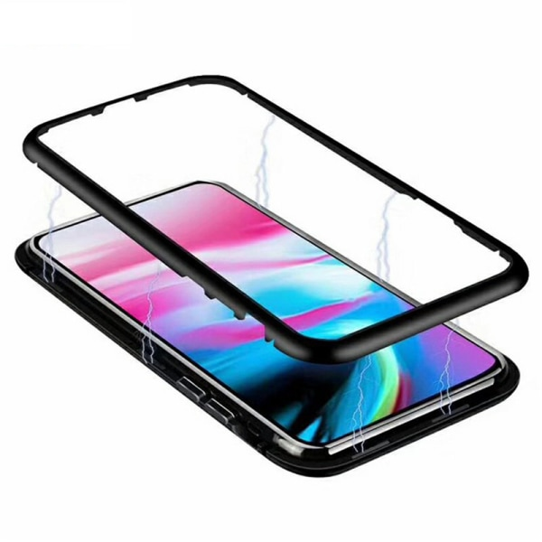 Qi magnet skal skydd fodral Samsung S7/S8/S9/S10/S20 E/+/U/FE - Röd S9