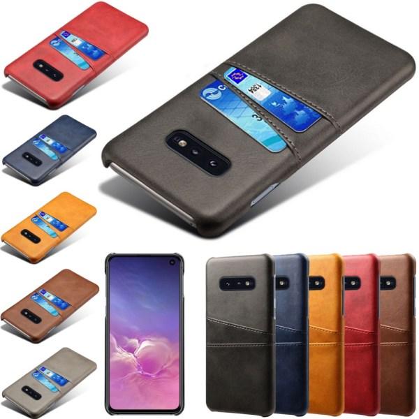 Samsung galaxy S10E skal kort - Svart Samsung Galaxy S10E
