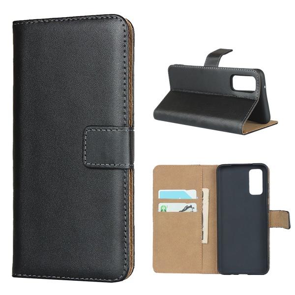 Samsung Galaxy S20/S20+/S20Ultra/S20FE plånbok skal fodral -  Svart S20 Ultra