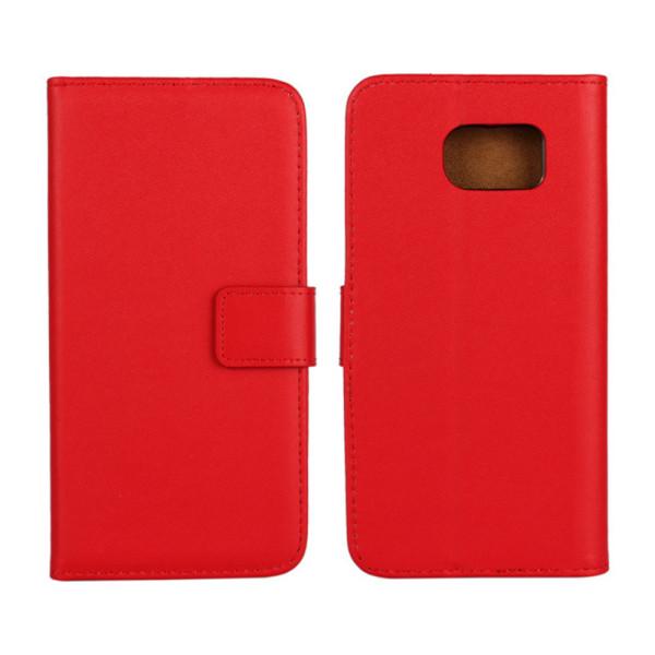 Samsung Note8/Samsung Note9/Samsung J6 plånbok skal fodral kort: Röd Samsung Galaxy Note9
