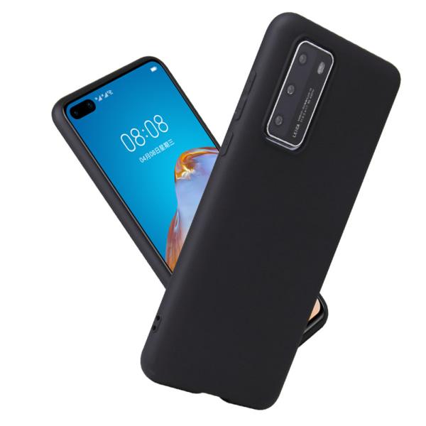 Silikon TPU skal Huawei P40/P30/P20 Pro/lite/E fodral svart - Svart P20 Pro Huawei