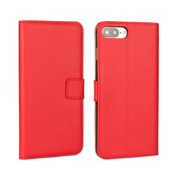 Telefon skal, plånboksmodell till Iphone 7P och 8P Svart