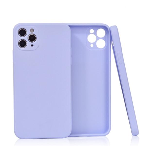 Välj TPU skal Iphone 12/11/XS/X/XR/8/7/6 +/Pro/Max/Mini fodral - Lila Iphone 12 mini