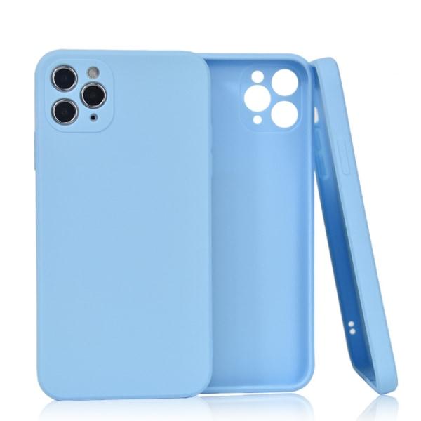 Välj TPU skal Iphone 12/11/XS/X/XR/8/7/6 +/Pro/Max/Mini fodral - Ljusblå Iphone XS Max