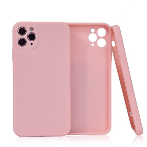 Välj TPU skal Iphone 12/11/XS/X/XR/8/7/6 +/Pro/Max/Mini fodral - Vit Iphone 11 Pro