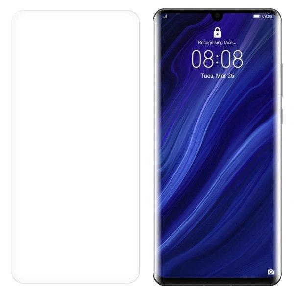 (2-Pack) Heltäckande Skärmskydd Huawei P30 Pro Transparent Huawei P30 Pro