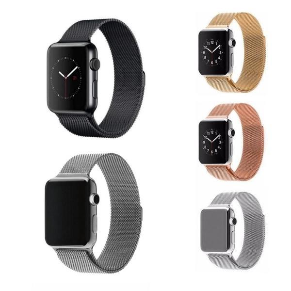 Apple Watch Armband Milanese Loop 42/44 mm Välj färg Black Svart