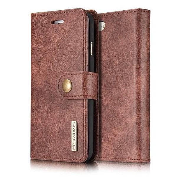 DG.MING 2in1 Magnet Plånboksfodral iPhone 7/8/SE Röd Red iPhone 7/8/SE 2020