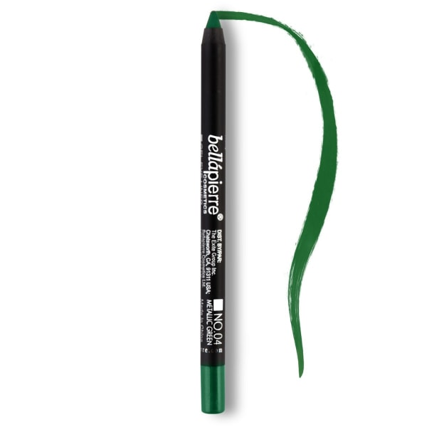 Bellapierre Gel Eye Liner - 04 Metallic Green Transparent