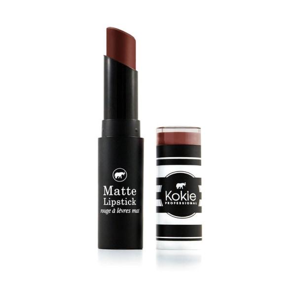 Kokie Matte Lipstick - Butter Rum Brun