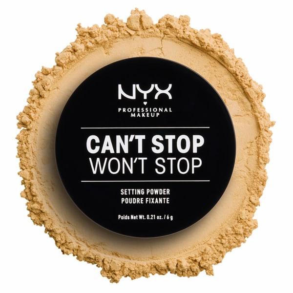 NYX PROF. MAKEUP  Can't Stop Won't Stop Setting Powder - Banana Transparent