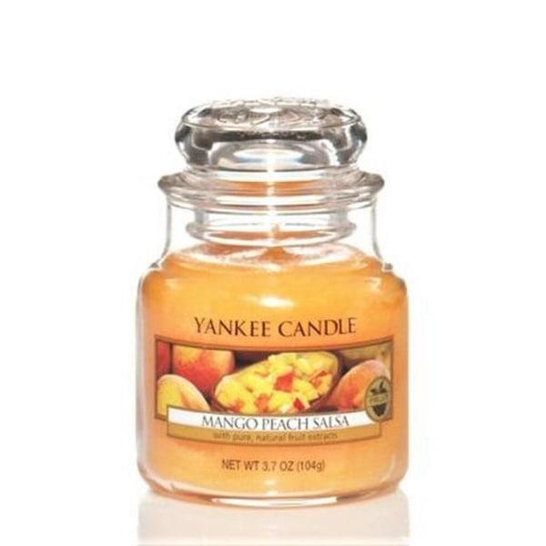 Yankee Candle Classic Small Jar Mango Peach Salsa 104g Orange