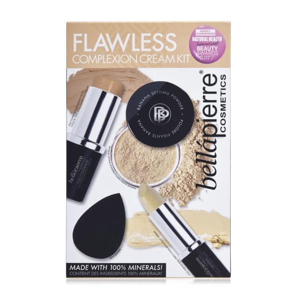 Bellapierre Flawless Complexion Cream Kit Medium Transparent