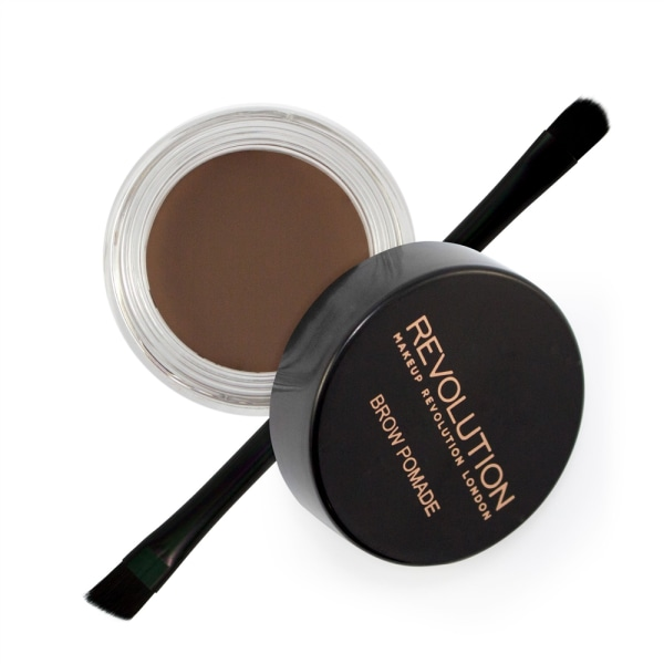 Makeup Revolution Brow Pomade - Dark Brown Mörkbrun