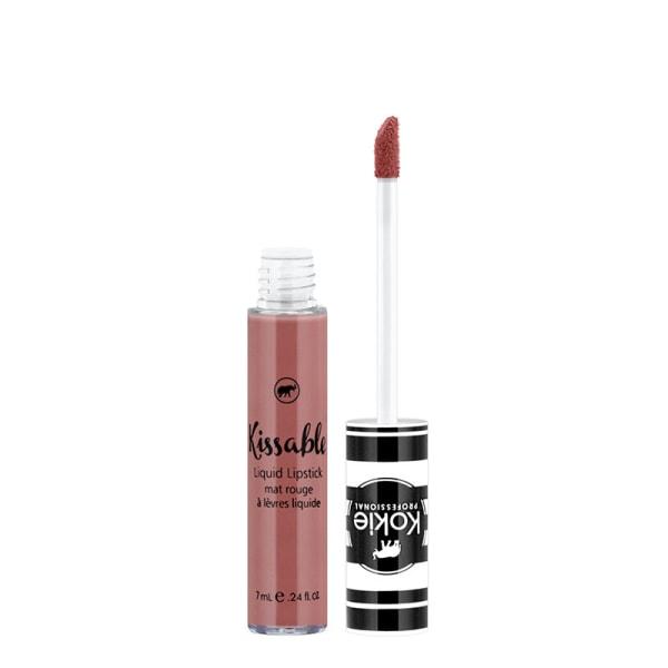 Kokie Kissable Matte Liquid Lipstick - Nirvana Brun