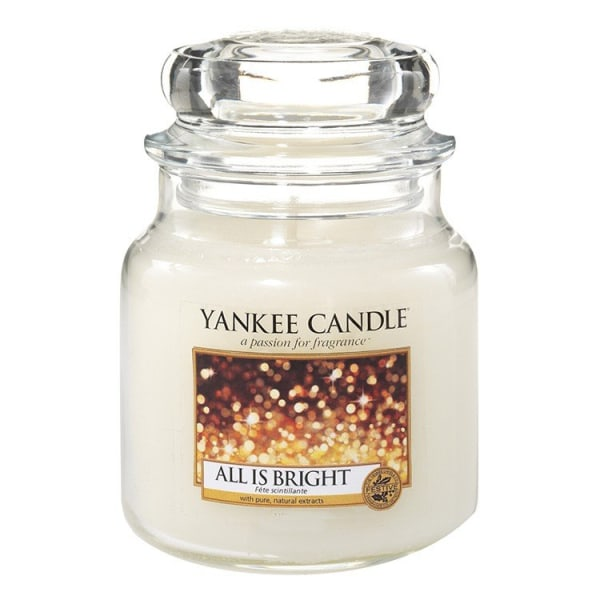 Yankee Candle Classic Small Jar All is Bright 104g Vit