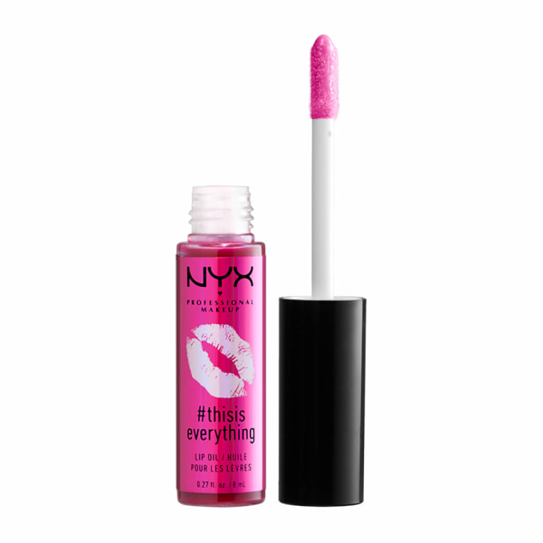 NYX PROF. MAKEUP Thisiseverything Lip Oil - Sheer Berry Transparent